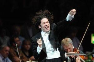 Gustavo Dudamel empolgado
