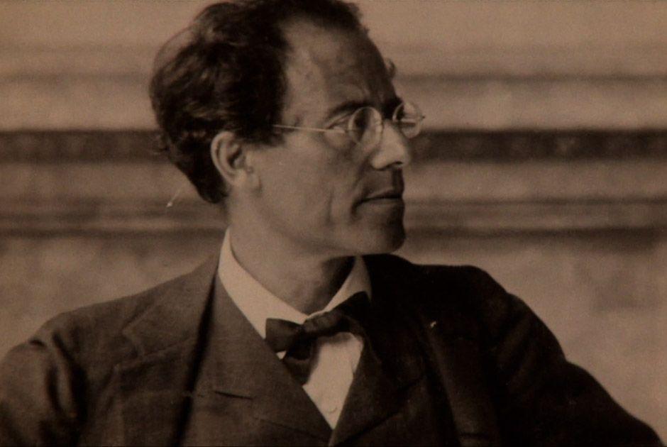 O compositor austríaco Gustav Mahler