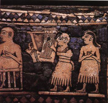 Música dos sumérios, egípcios e gregos antigos