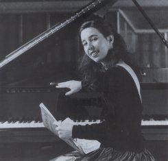 Retrato da Pianista Quando Jovem