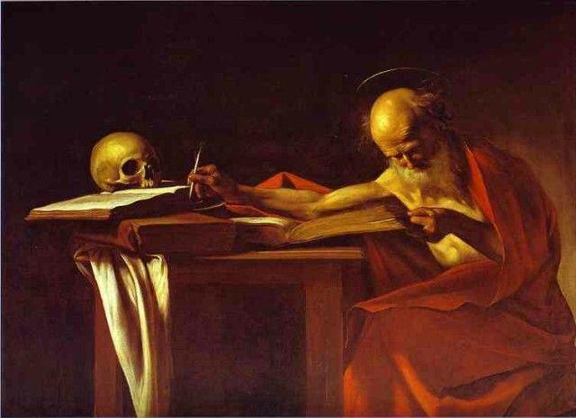 Caravaggio, São Jerônimo (1600)