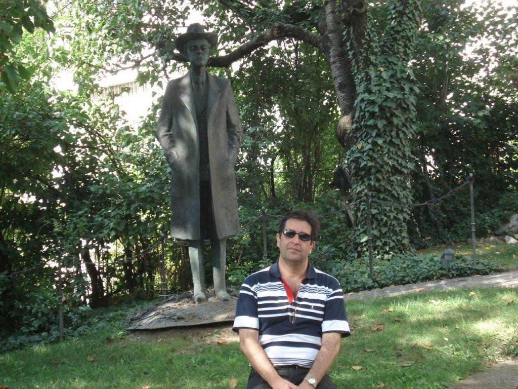 Bartók e uma amigo de PQP Bach que só mandou esta foto como provocação