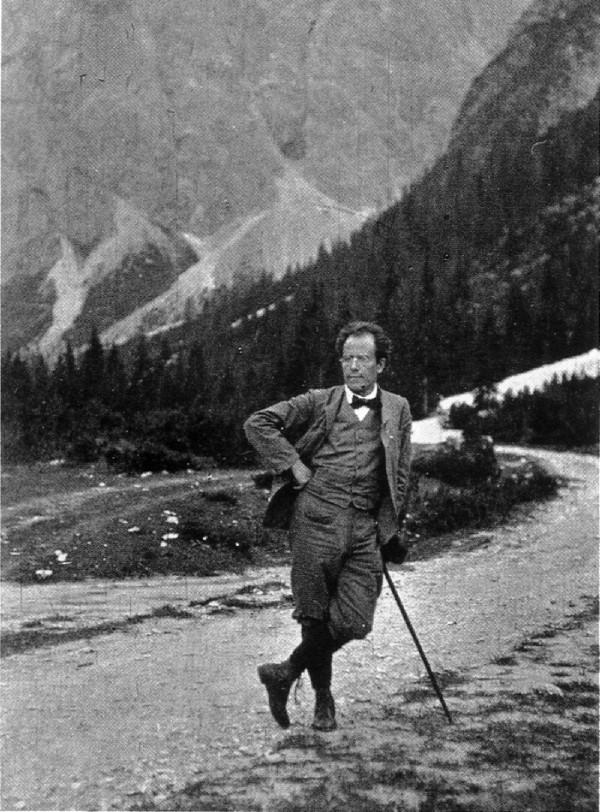 Gustav Mahler: sintam a elegância do bofe
