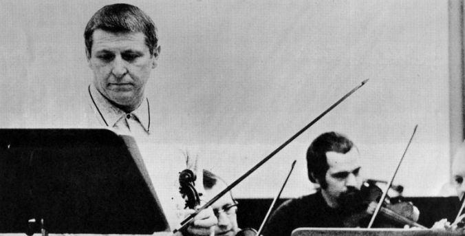 O violinista e Franzjosef Maier
