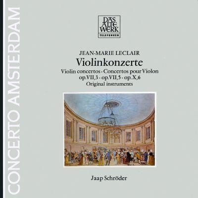 Jean-Marie Leclair (1697–1764): Concertos para Violino