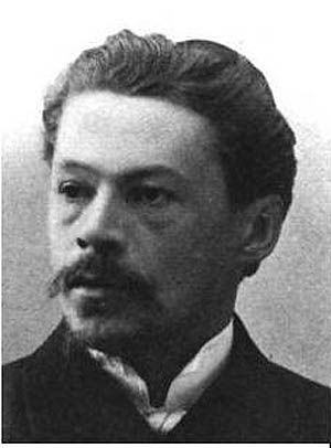 Bebum: Anton Arensky por volta de 1904