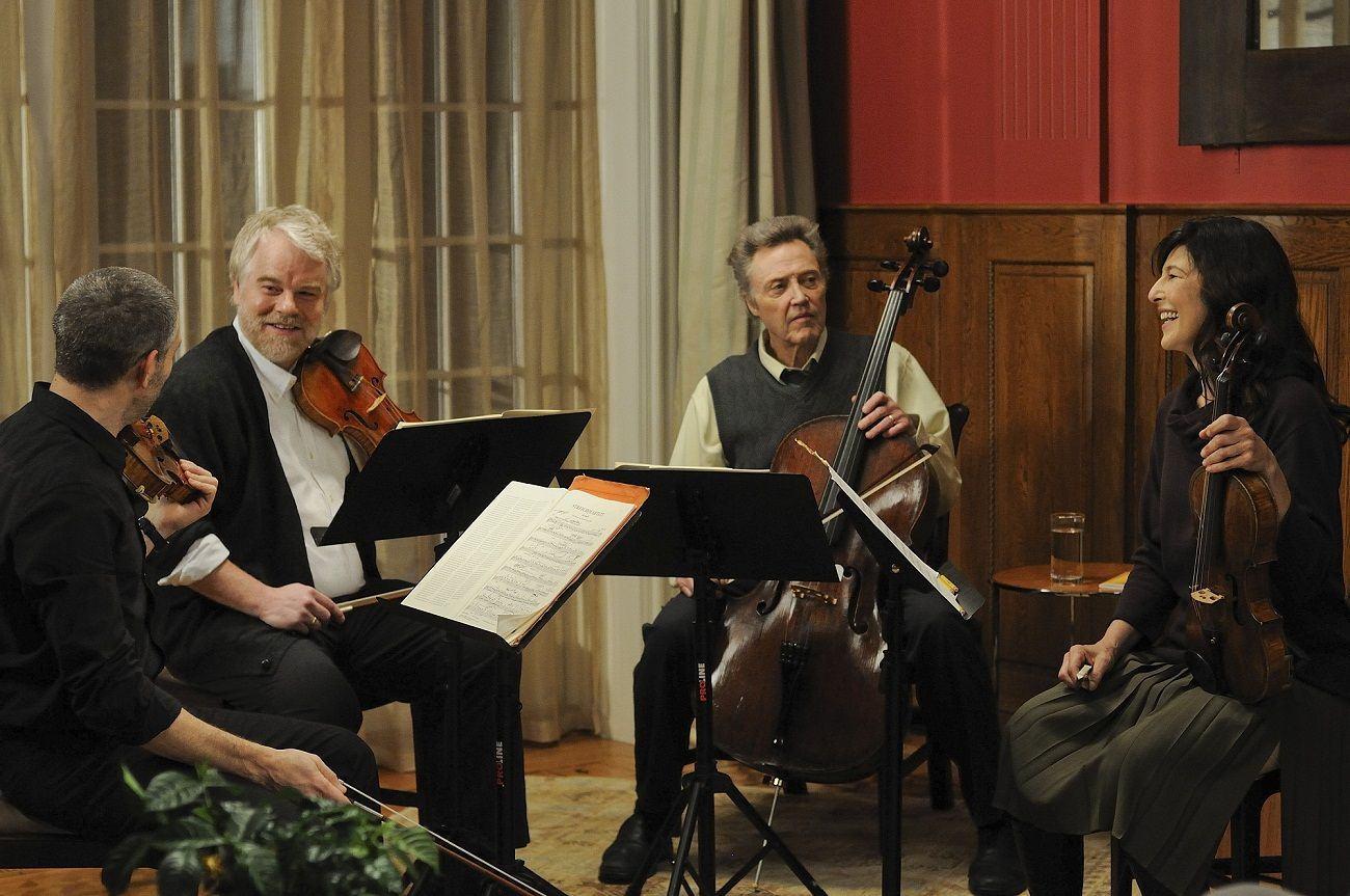 "O Op. 131 é a música que perpassa todo o belíssimo filme ""O Último Quarteto"" de Yaron Zilberman"