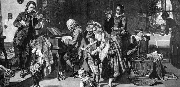 Bach e sua família, os tempos de Maria Barbara, retratada na gravura