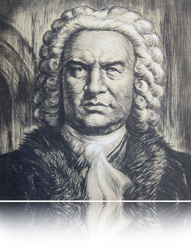 bach russian painting