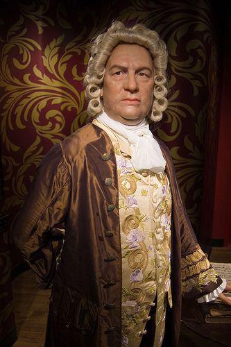 O Bach no Museu de Madame Tussaud