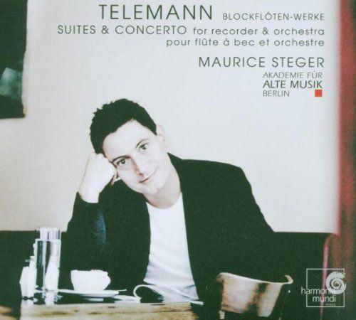 Georg Philipp Telemann (1681-1767): Suites & Concertos para Flauta Doce