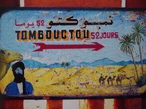 Em compensação, para quem está em Marrakesh e tem um camelo, Tombouctou é logo ali (foto do autor)