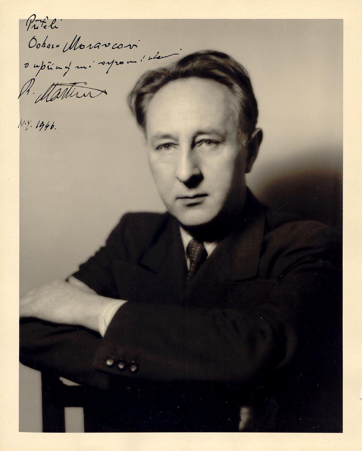 Bohuslav Martinu (1890-1959): Sinfonias Completas de 1 a 5 e Fantasias Sinfônicas (Sinfonia Nº 6)