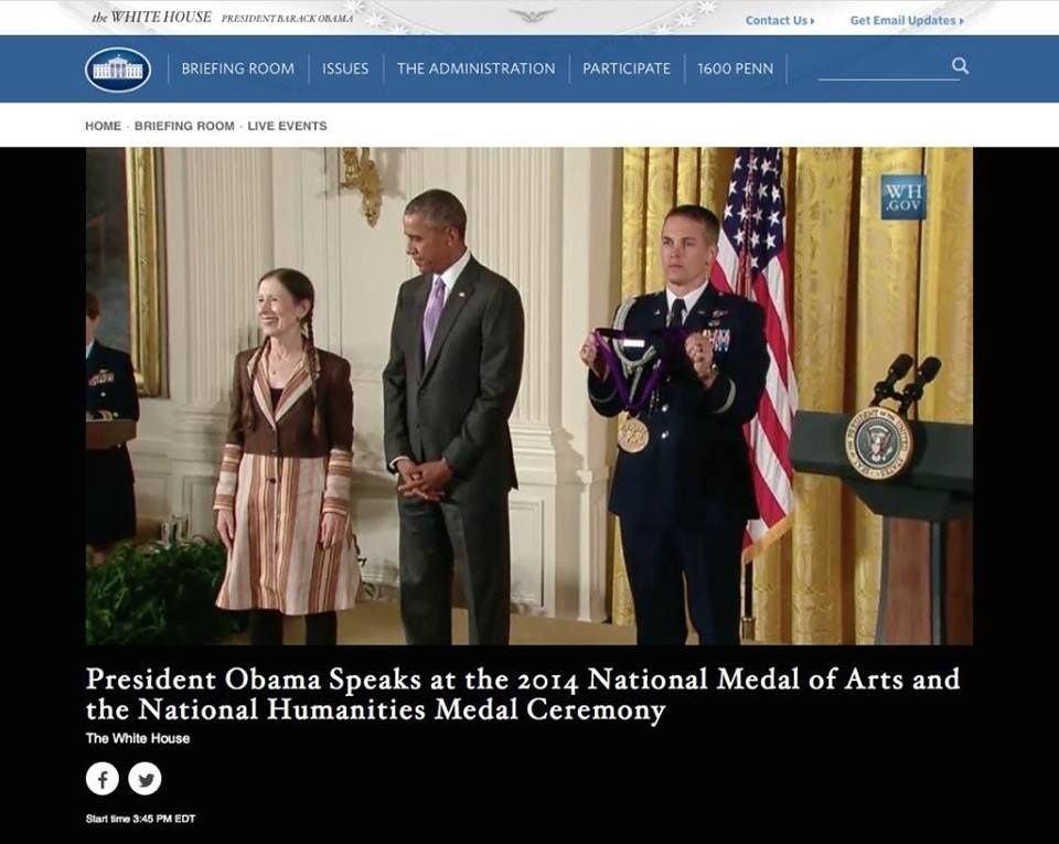 Meredith Monk na Casa Branca