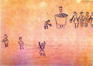 """""""Todos tinham fome"""" - Liana Frankl, 9 anos"""