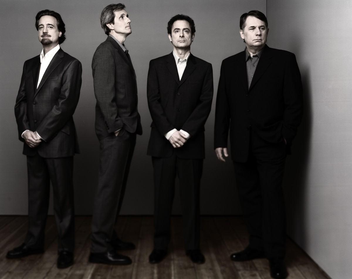 O Emerson String Quartet enclausurado.