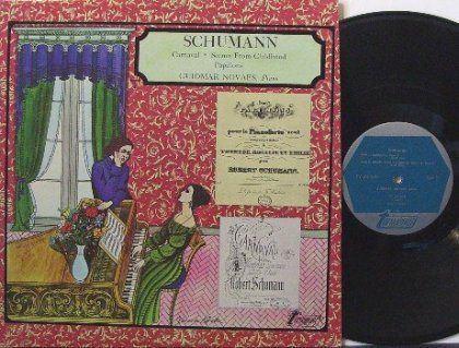 Guiomar Novaes: a vez de Robert Schumann (1810-1856): Carnaval, Cenas Infantis, Papillons…  vocês querem mais?