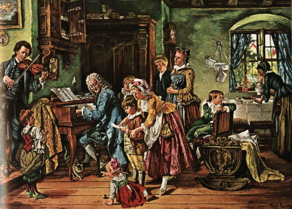 Johann Michael Bach (1648-1694) / Georg Christoph Bach (1642-1697) / Johann Christoph Bach (1642-1703) / Heinrich Bach (1615-1692): Cantatas compostas por membros da família Bach (Goebel-MAK)