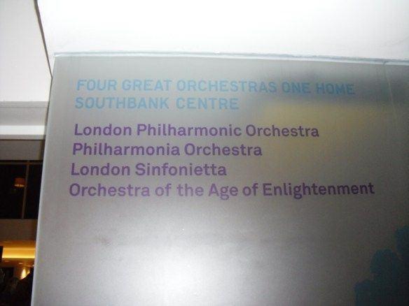 Foto: PQP Bach, no Southbank Center