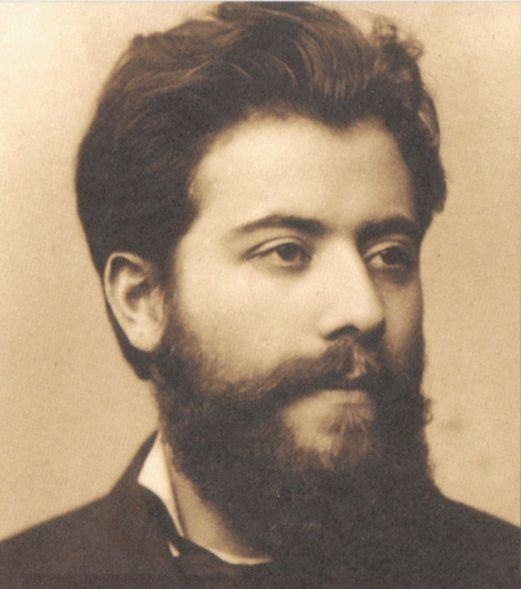 """Vocês vão pensar que eu estou brincando, mas este era Mahler aos 23 anos, o mesmo que foi """"torturado por Brahms e Lizst."""