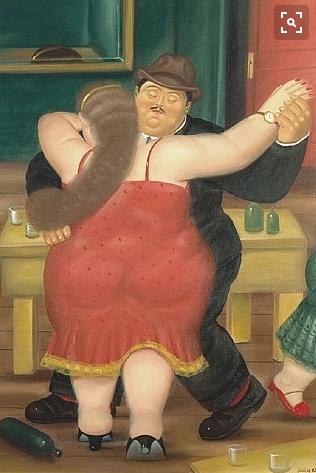 The Dancers, por Fernando Botero