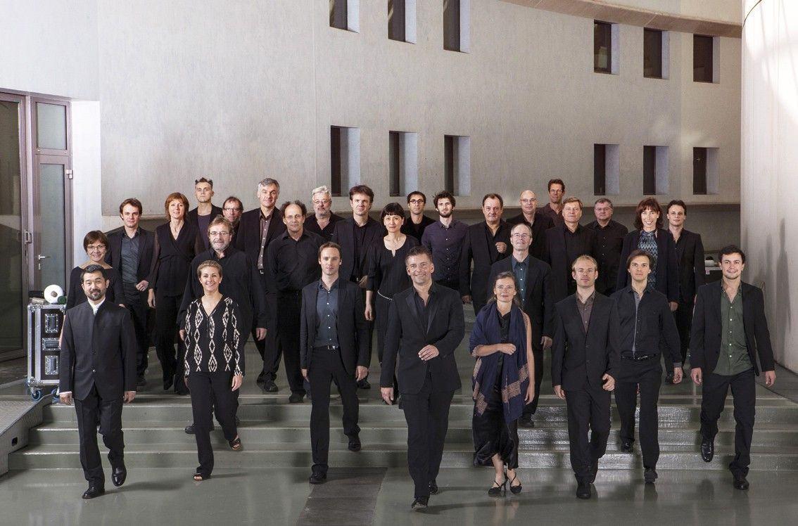 Olha o o Ensemble Intercontemporain chegando, gente!