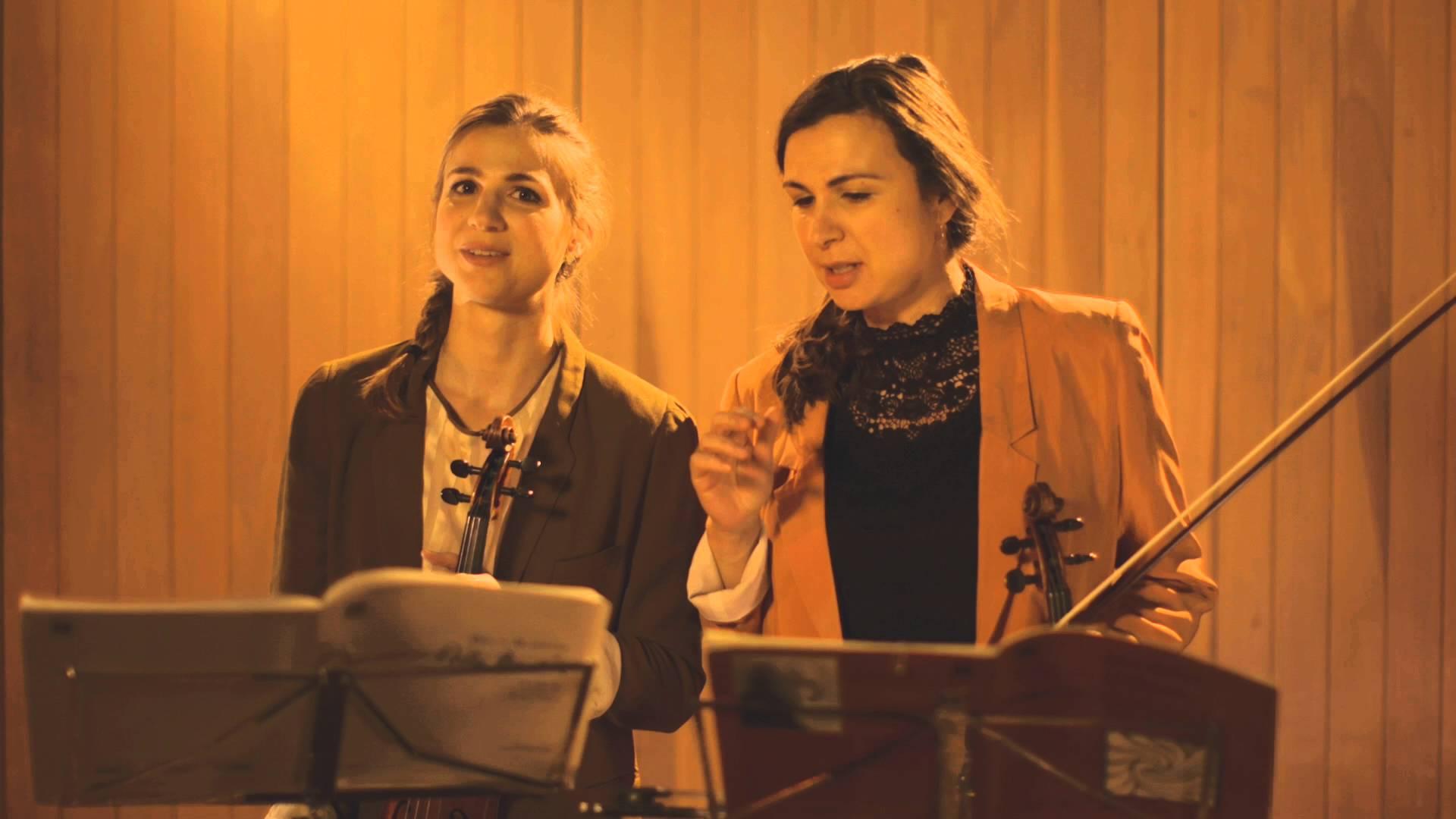 Deborah & Sarah Nemtanu falando sobre os 44 Duos de Bartók