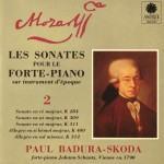 Paul Badura-Skoda - Mozart- Sonates pour le pianoforte, K 284, K 309, K 311