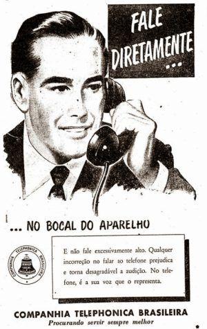 Companhia+Telephonica+Brasileira+1956