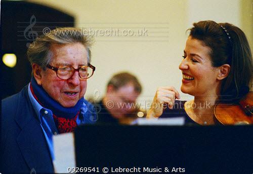 Henri Dutilleux (1916-2013) — Béla Bartók (1881-1945) — Igor Stravinski (1882-1971): works played by Anne-Sophie Mutter