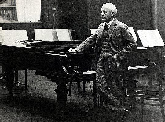 Béla Bartók (1881-1945) em 1930.