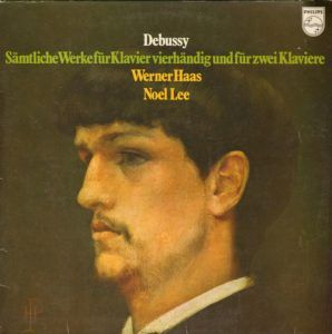 Debussy 2 pianos 4 hands cover German ed