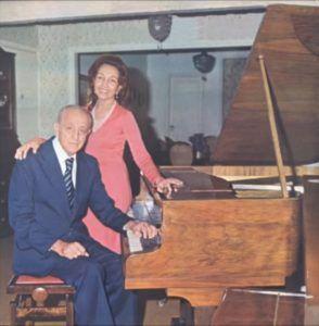 Em família: Mignone e Maria Josefina