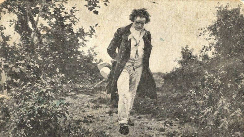 Beethoven dando um rolê pensando na tal amada imortal