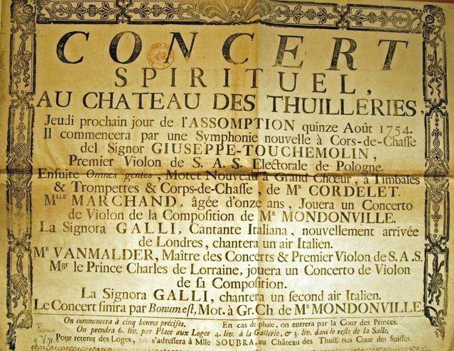 Arcangelo Corelli, Georg Philipp Telemann, Jean-Philippe Rameau: Le Concert Spirituel: Au temps de Louis XV