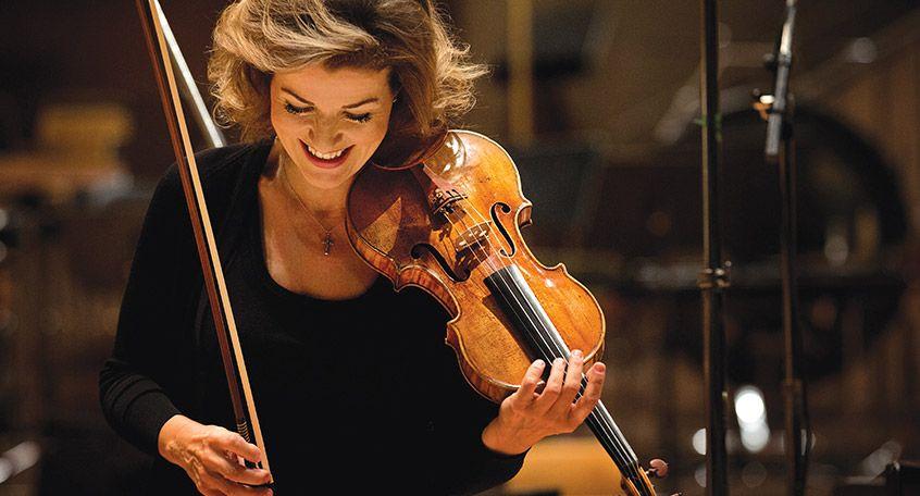 Anne-Sophie Mutter — Modern: Works by Stravinsky / Lutoslawski / Bartók / Moret / Berg / Rihm