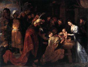 Adoração dos Magos, Rubens, 1618