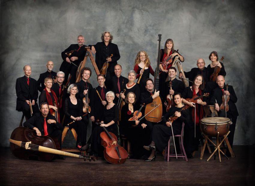 A Akademie für Alte Musik com seus instrumentos | Foto: Uwe Arens