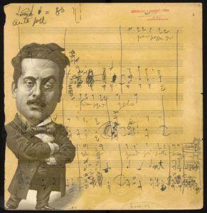 Última página escrita por Puccini