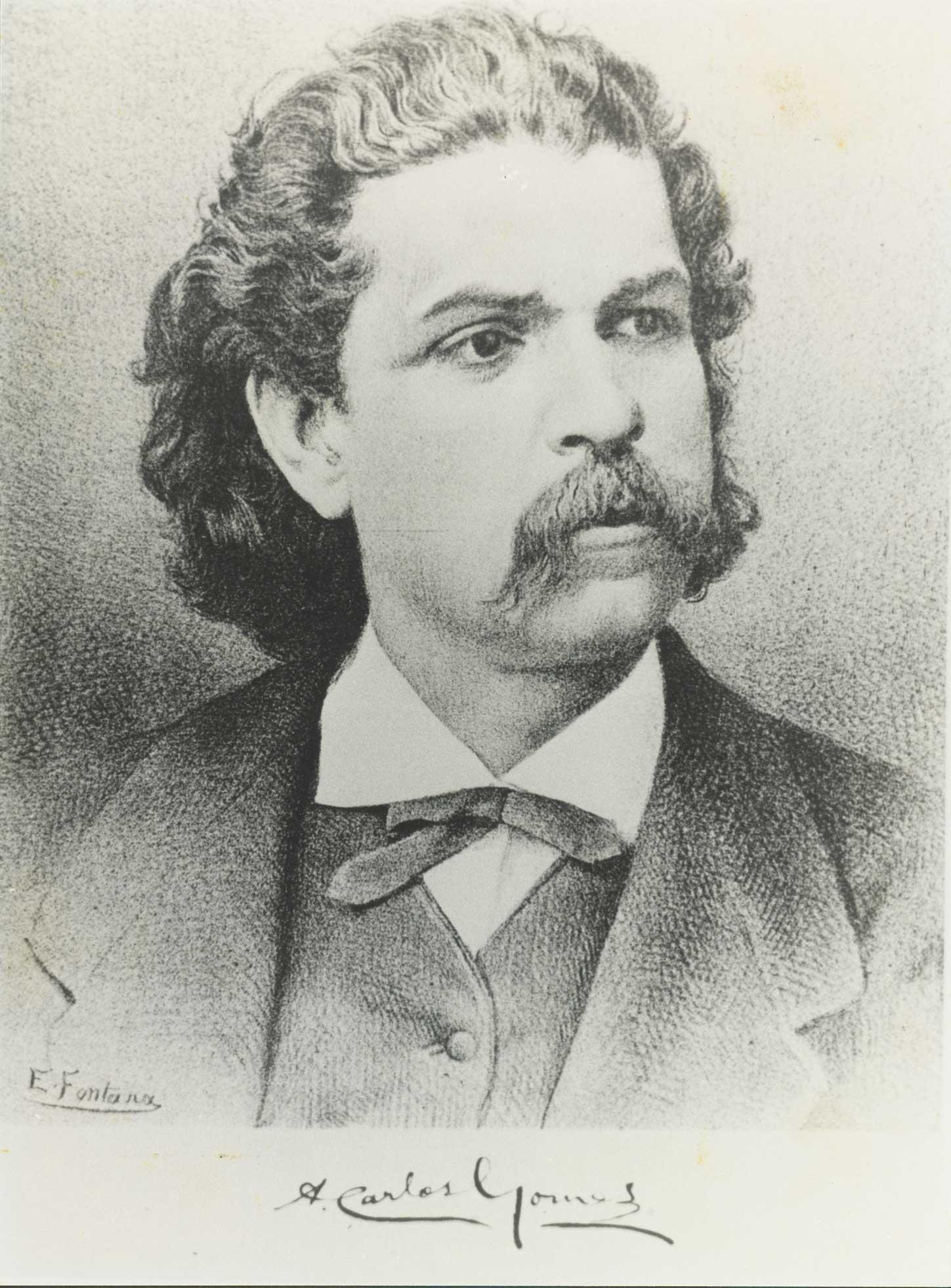 Antônio Carlos Gomes (1836-1896): Il Guarany