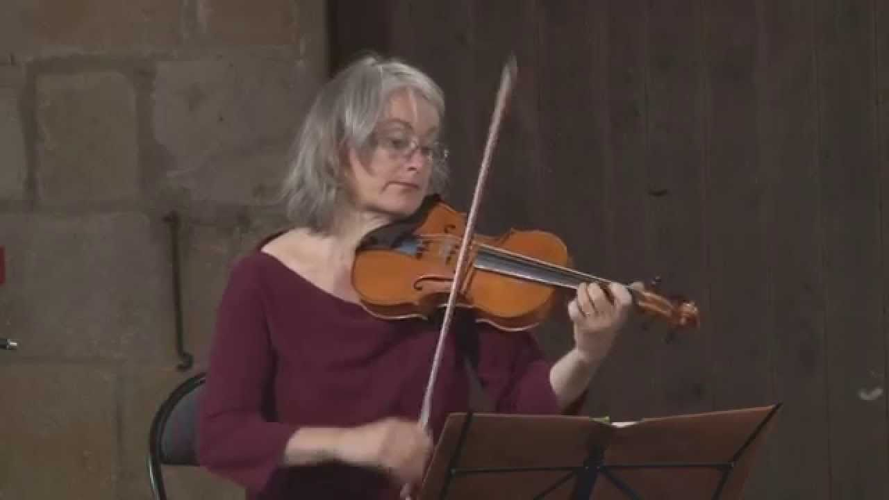 Alice Pierot, violinista barroca francesa | Foto: YouTube