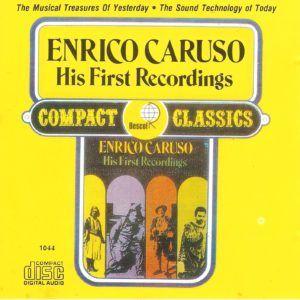 Capa CD Caruso