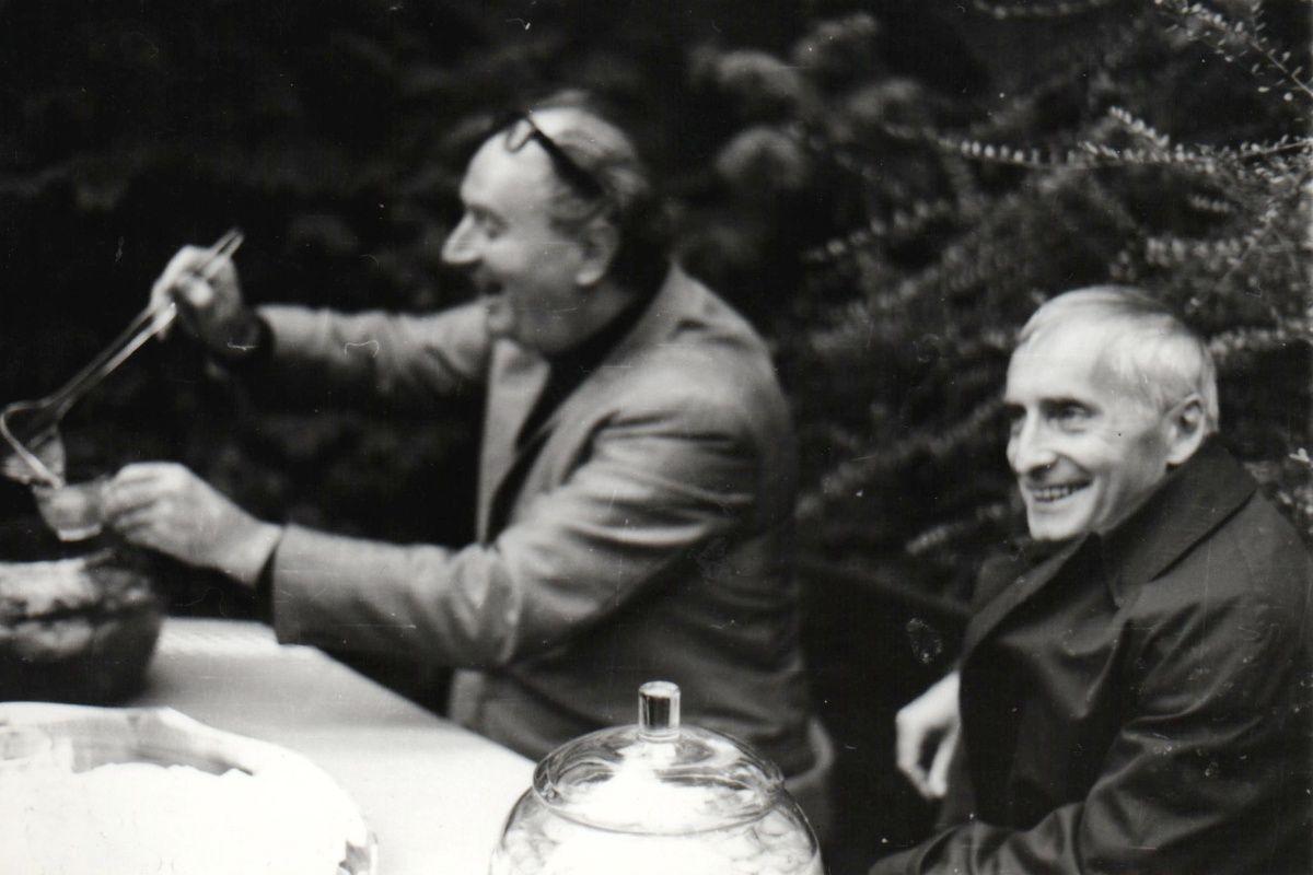 Vacláv Neuman e Rafael Kubelik em 1969