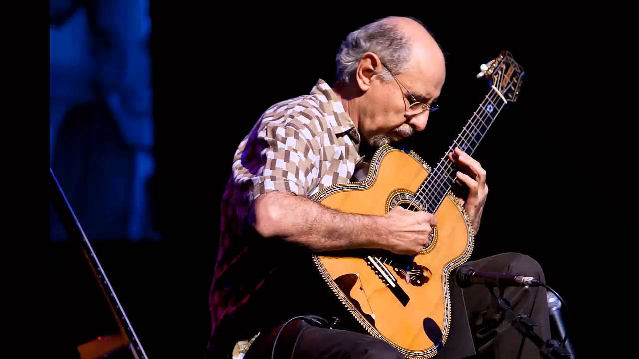 O supercraque Paulo Bellinati, compositor neste CD.