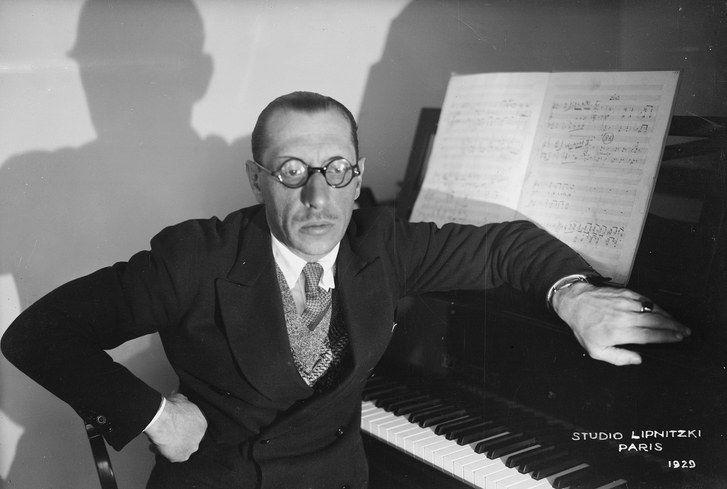 Igor Stravinsky (1882-1971): Sagração da Primavera e Sinfonia em 3 Movimentos