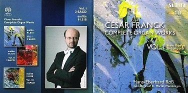 César Franck (1822-1890), obra para Órgão: primeira gravação integral, em 6 CDs