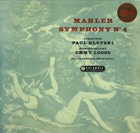 Gustav Mahler (1860-1911): Sinfonia No. 4 – Emmy Loose, Philharmonia Orchestra & Paul Kletzki
