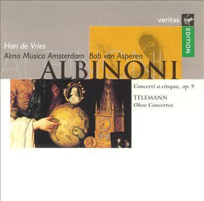 Albinoni (1671-1751) & Telemann (1681-1767): Oboe Concertos – Han de Vries