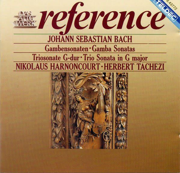 Johann Sebastian Bach (1685-1750): Sonatas para viola da gamba – (Trio Sonatas) BWV 1027 – 1029 & 1039 – Nikolaus Harnoncourt & Frans Brüggen