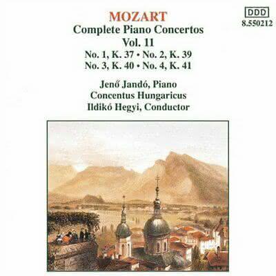 W. A. Mozart (1756-1791): Integral Concertos para piano – Jenö Jandó – Post 6 de 5